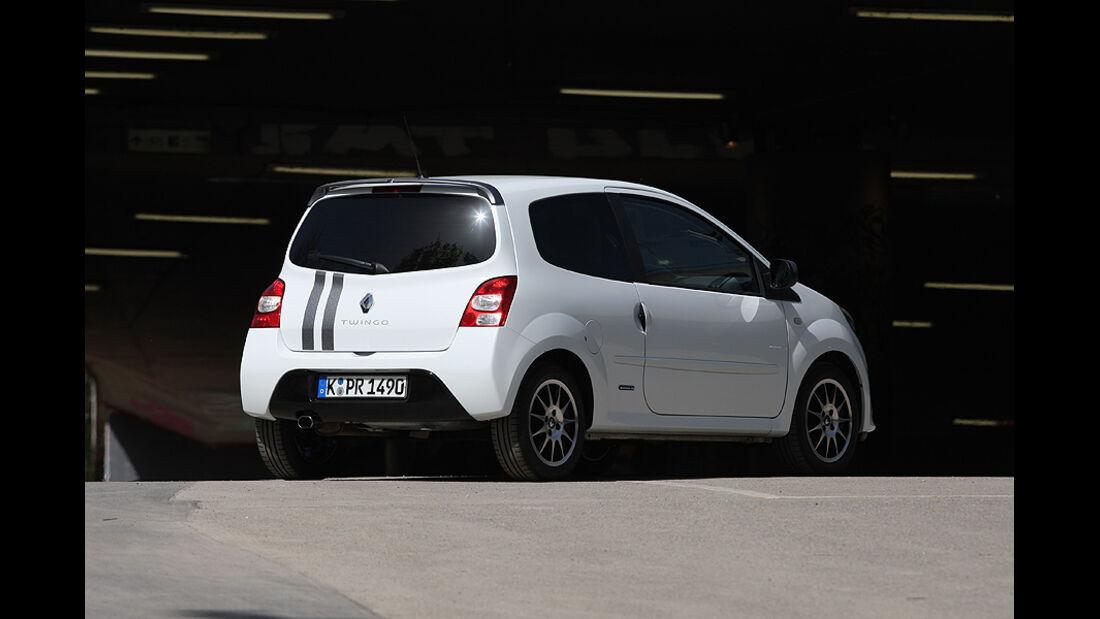 Kofferraumvolumen Test, Renault Twingo