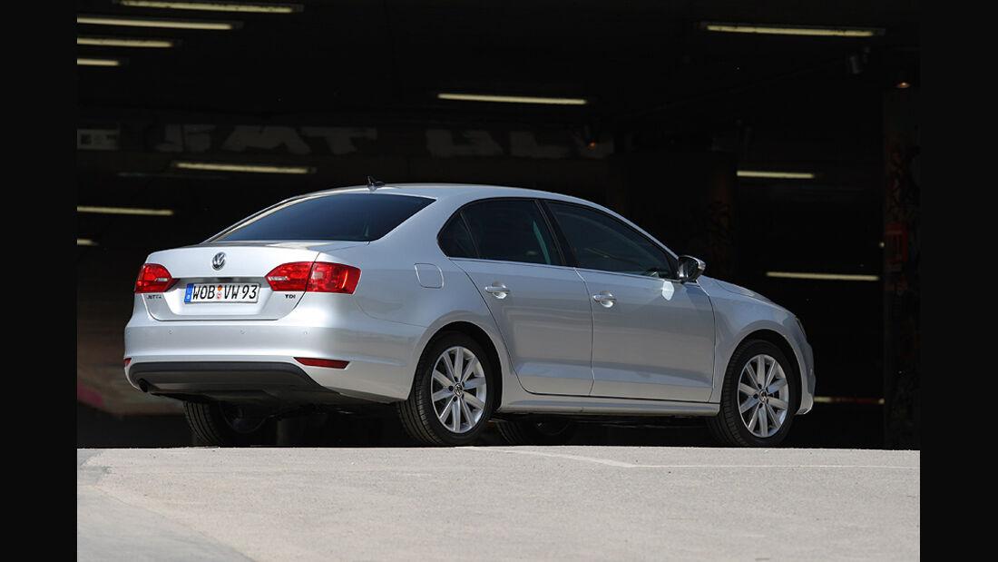 Kofferraumvolumen Test, VW Jetta, Heck