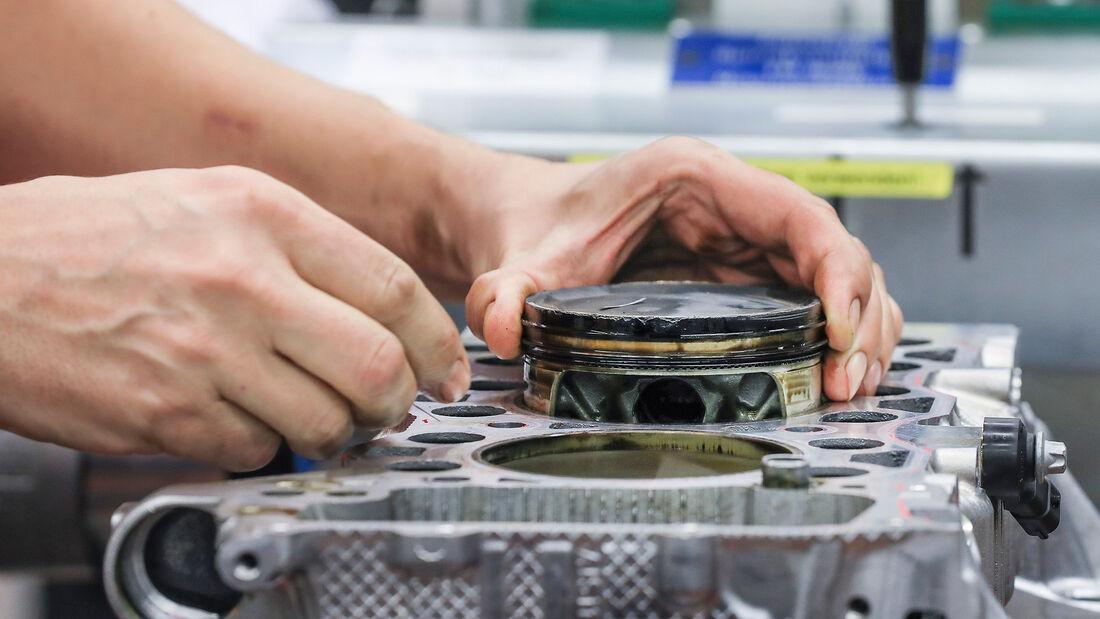 Kolben aus 3D-Drucker, Porsche