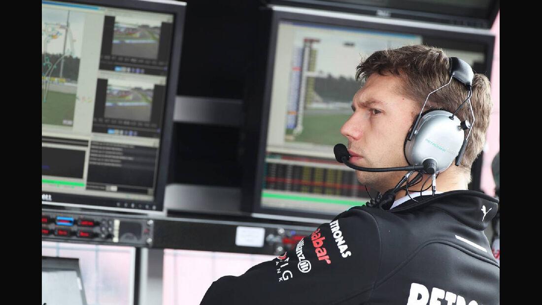 Kommandostand - Formel 1 - GP Deutschland - 20. Juli 2012