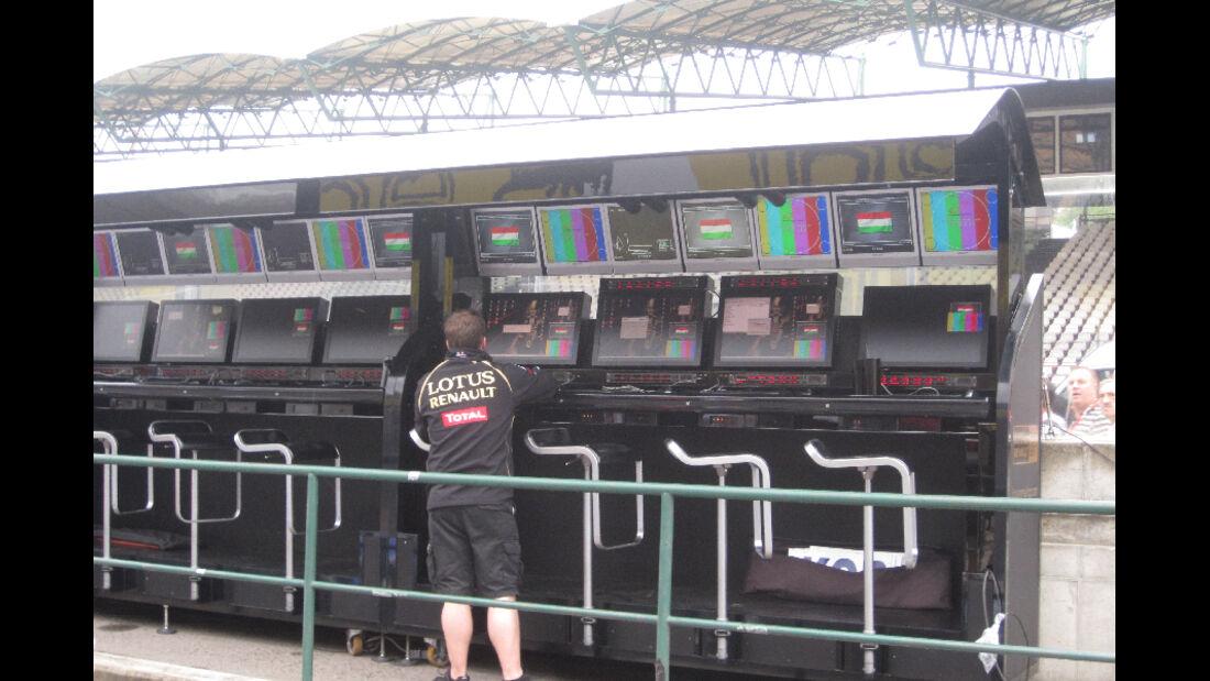 Kommandostand - GP Ungarn - Formel 1 - 28.7.2011