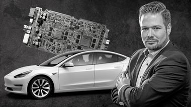 Kommentar Vorsprung Tesla von Chefredakteur Jochen Knecht