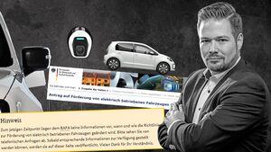 Kommentar zur Verzögerung des Umweltbonus von Chefredakteur Jochen Knecht