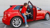 Kompakt gegen SUV, Audi A3, Audi Q2, Vergleich, ams2218