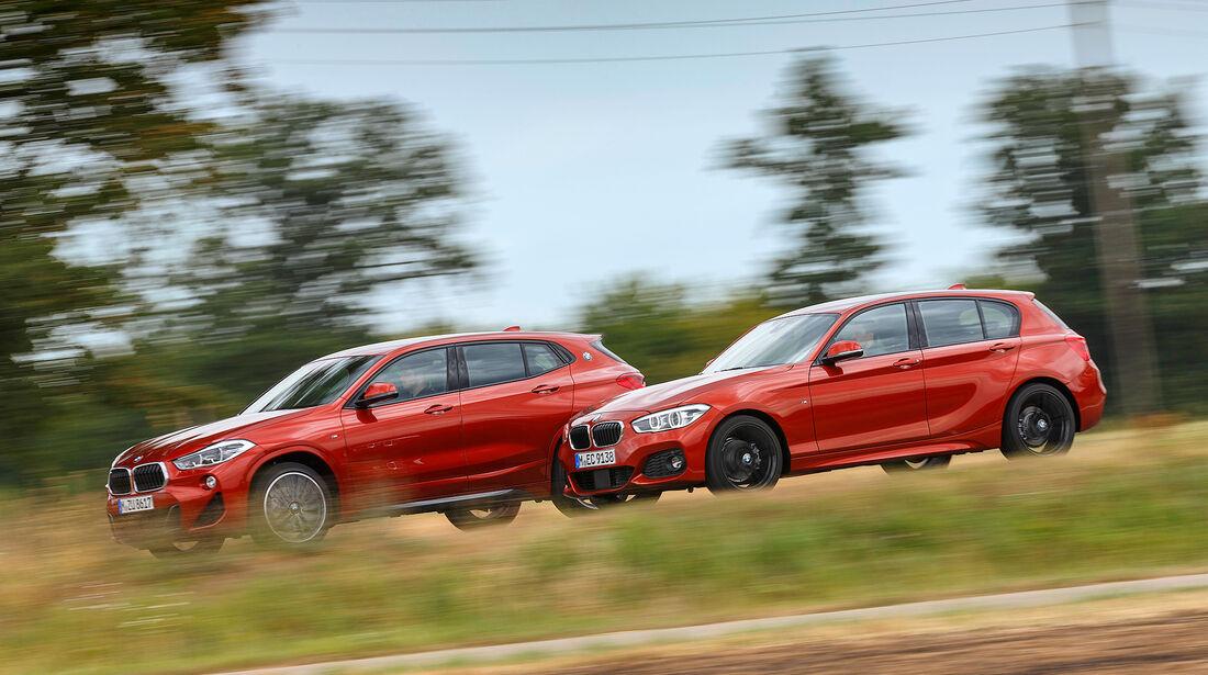 Kompakt gegen SUV, BMW 1er, BMW X2, Vergleich, ams2218