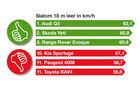 Kompakte SUV, Slalom