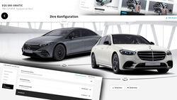 Configurator price comparison Mercedes S-Class EQS