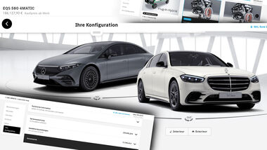 Konfigurator Preis Vergleich Mercedes S-Klasse EQS
