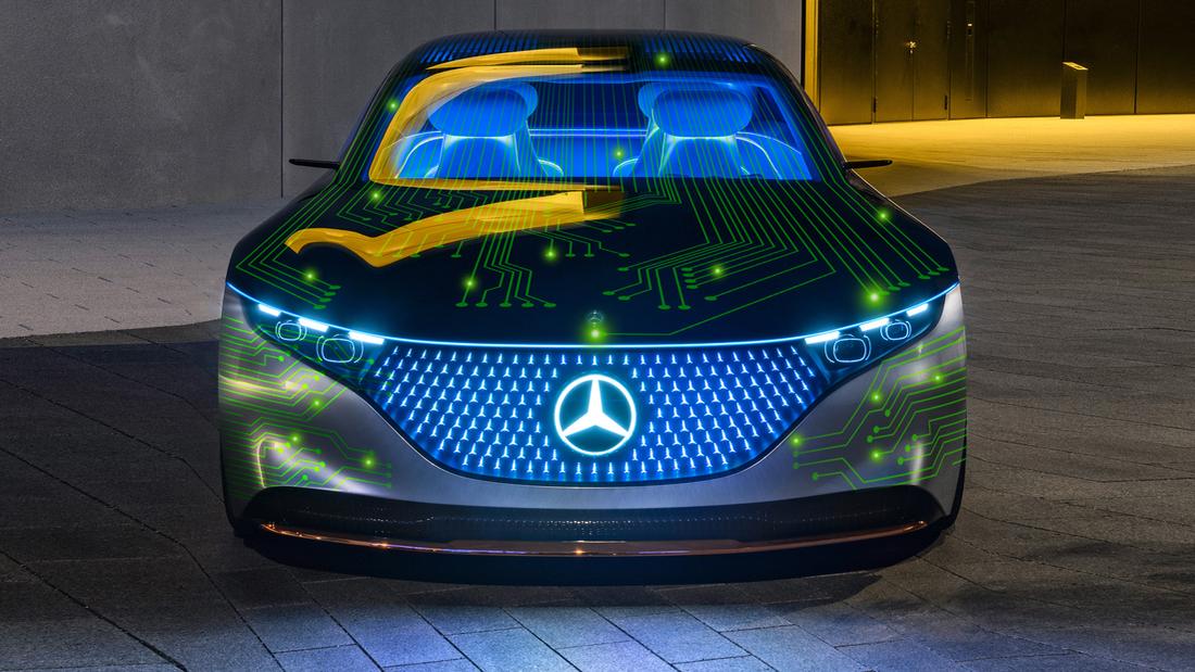 Kooperation Mercedes mit NVIDIA 2020