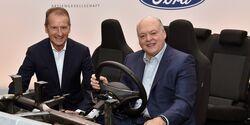 Kooperation VW und Ford