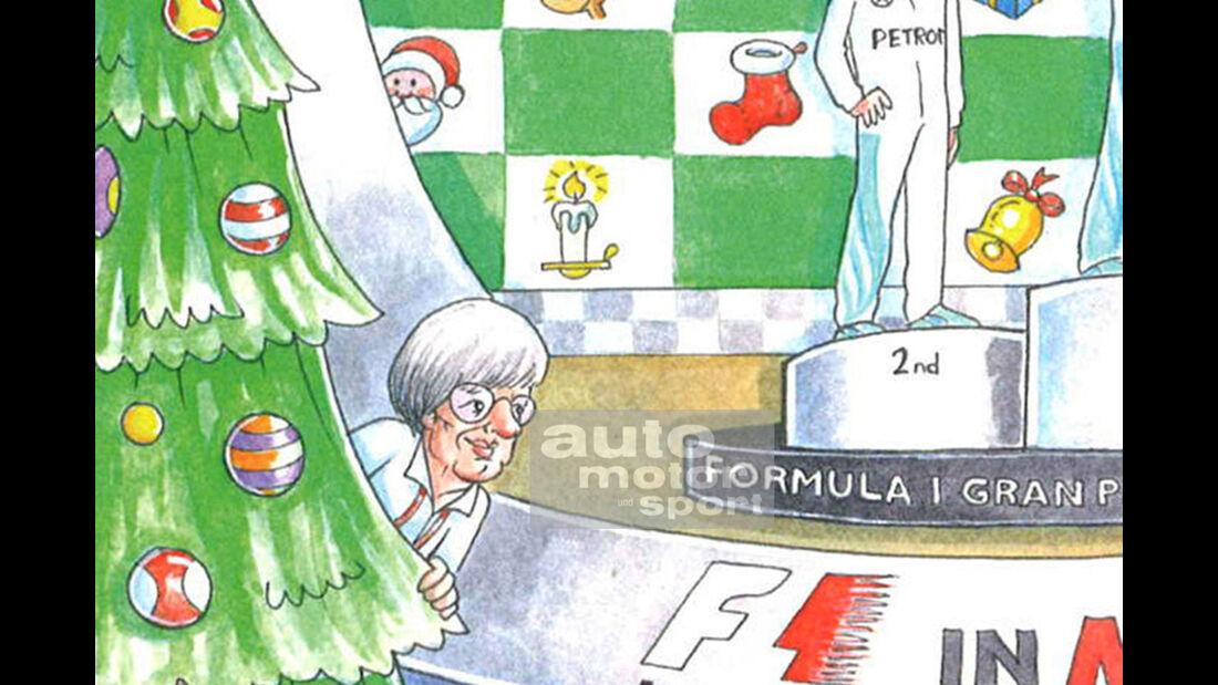 Kopie von: Bernie Ecclestone - Weihnachtskarte 2016
