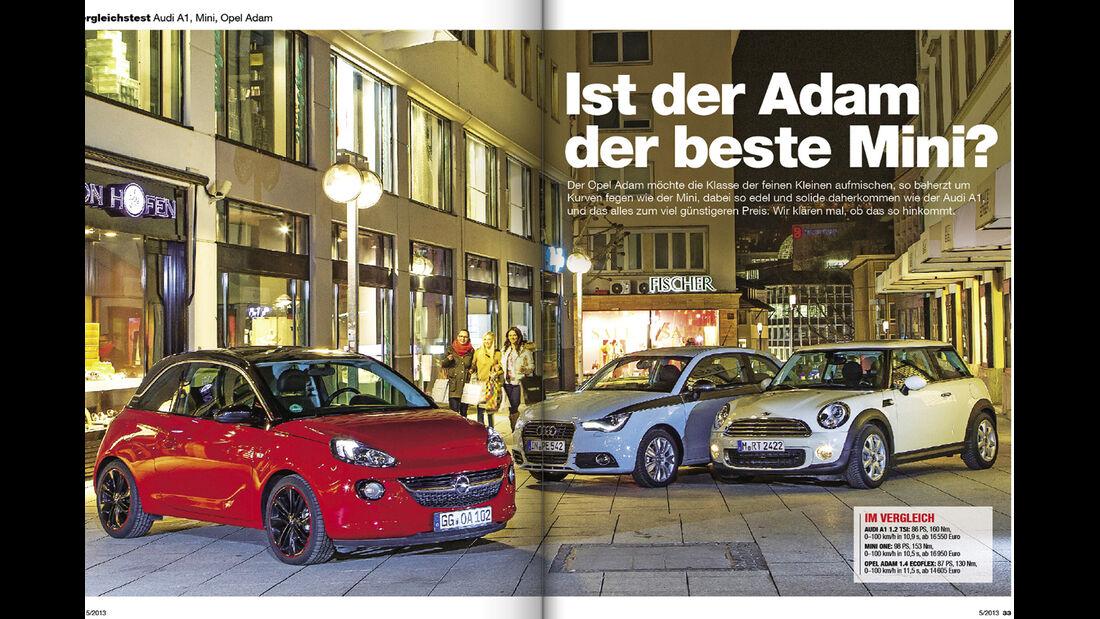 Kopie von: auto motor und sport Heft 05/ 2013 Inhalt