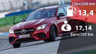 Kosten Realverbrauch Mercedes-AMG E 63 S 4Matic T-Modell