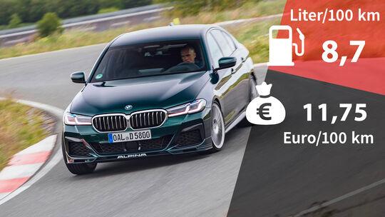 Kosten und Realverbrauch BMW Alpina D5 S