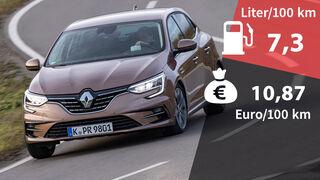 Kosten und Realverbrauch Renault Megane Tce 140 2021