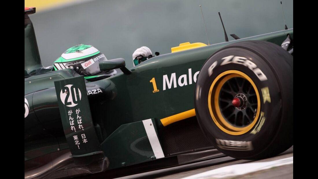 Kovalainen Formel 1 GP China 2011
