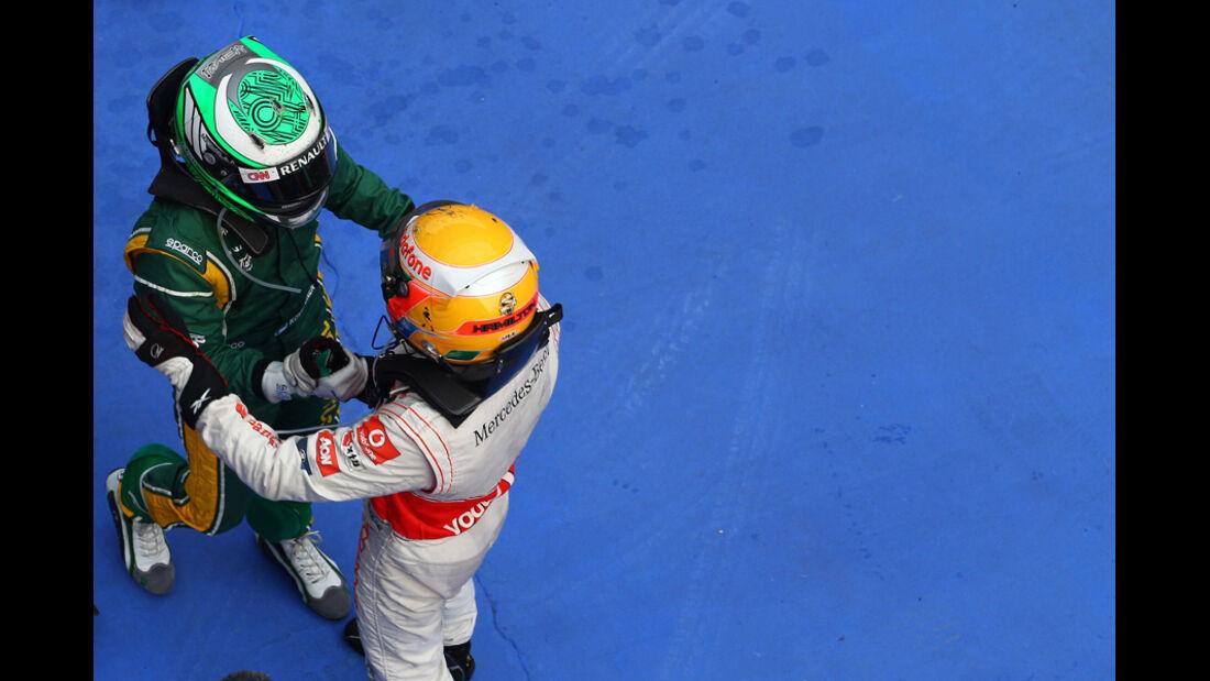 Kovalainen GP China 2011