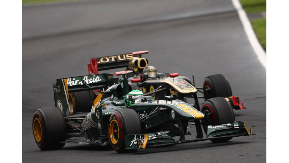 Kovalainen - Noten - GP Ungarn - Formel 1 - 31.7.2011