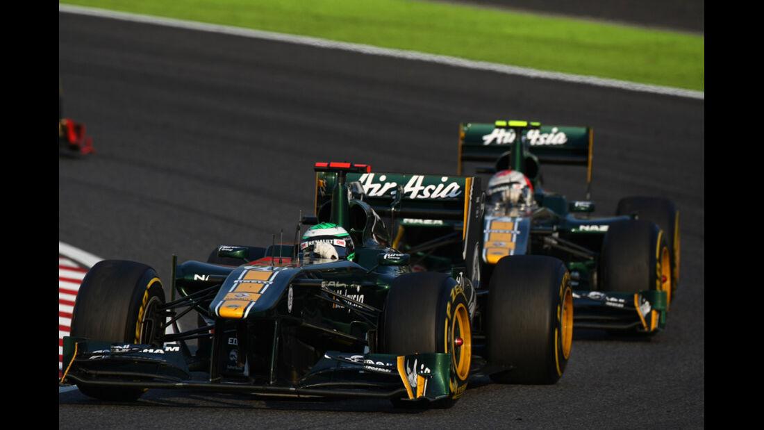 Kovalainen Trulli Lotus GP Japan 2011