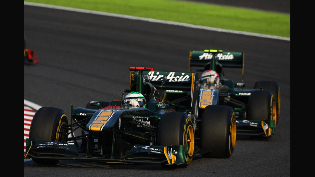 Kovalainen Trulli Lotus GP Japan 2011