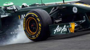 Kovalainen Verbremser Pirelli 2011