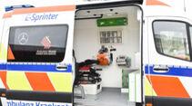 Krankentransportwagen (eKTW) auf Basis Mercedes eSprinter