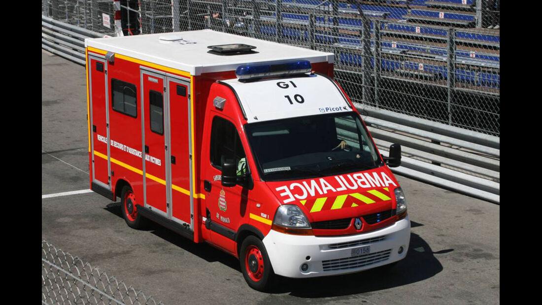 Krankenwagen GP Monaco 2011