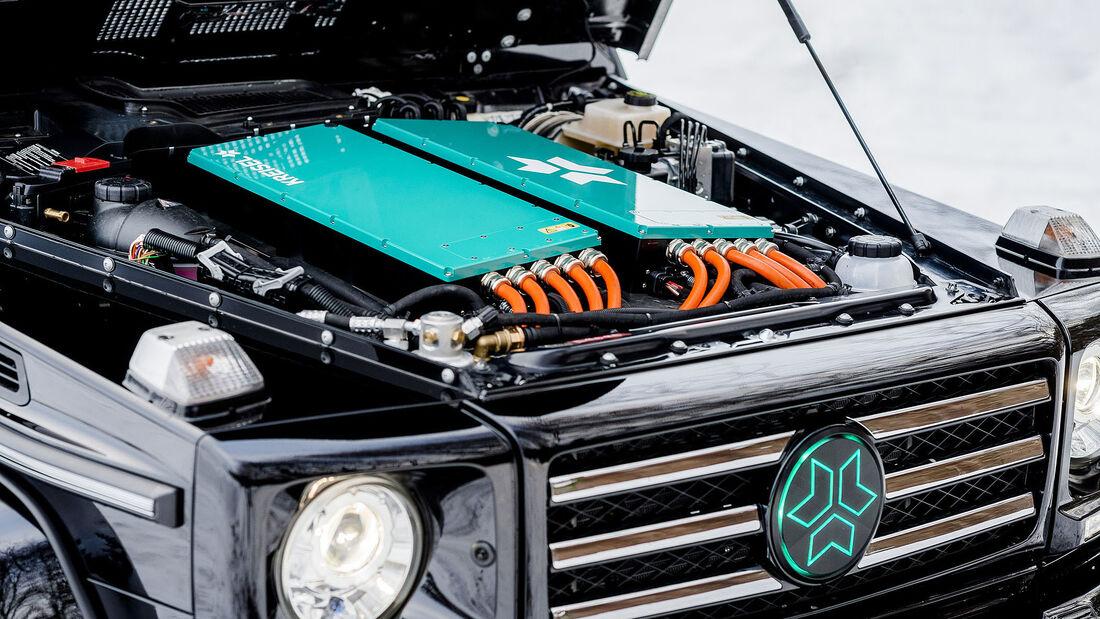 Kreisel Electric Mercedes G