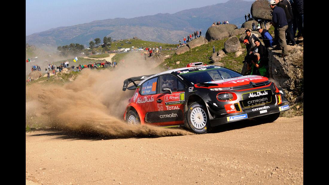 Kris Meeke - Citroen - Rallye-WM