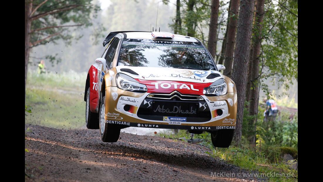 Kris Meeke - Rallye Finnland 2014