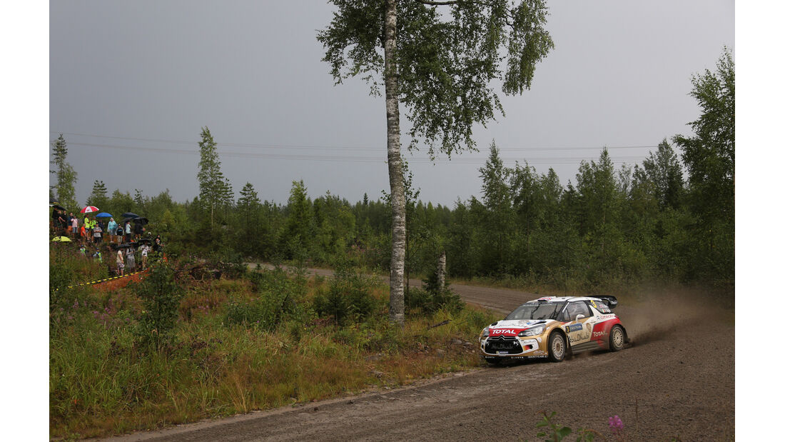Kris Meeke - Rallye Finnland 2014 - Tag 2 - Citroen DS3