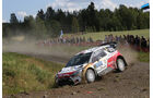 Kris Meeke - Rallye Finnland 2014 - Tag 3 - WRC - Citroen DS3 WRC