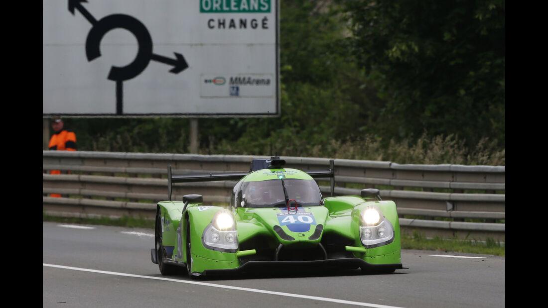 Krohn Racing - Ligier JS P2 - Nissan - 24h Le Mans Vortest - 2016