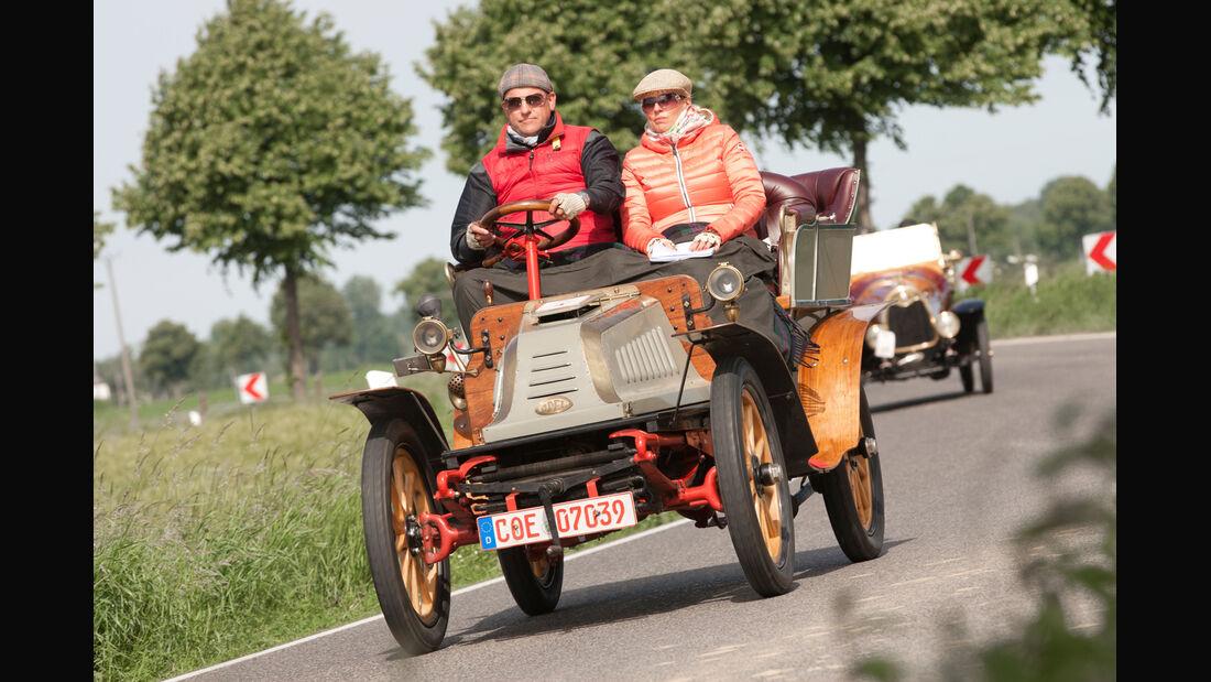 Kronprinz Wilhelm Rasanz, Opel, Ausfahrt