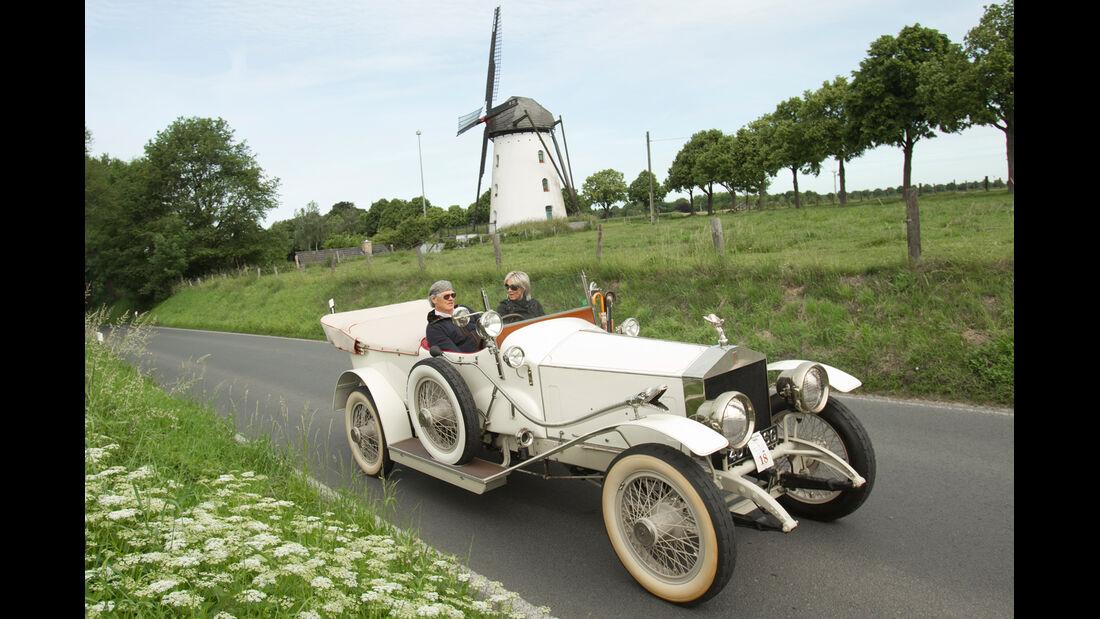 Kronprinz Wilhelm Rasanz, Rolls Royce, Windmühle