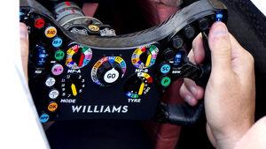 Kubica-Lenkrad - GP Italien 2019