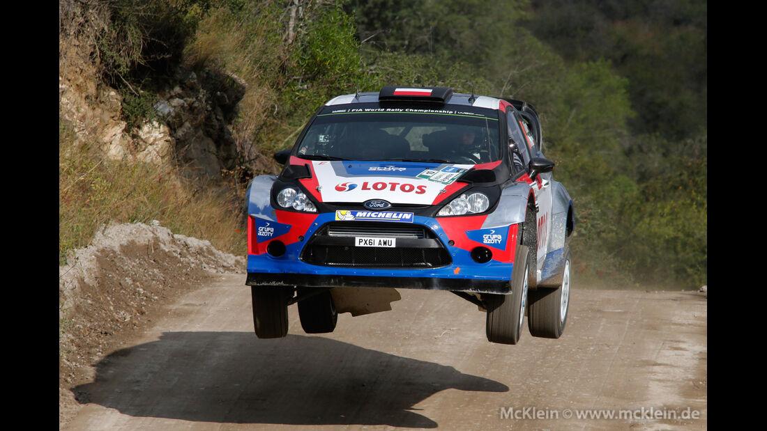Kubica - Rallye Argentinien 2014 - WRC