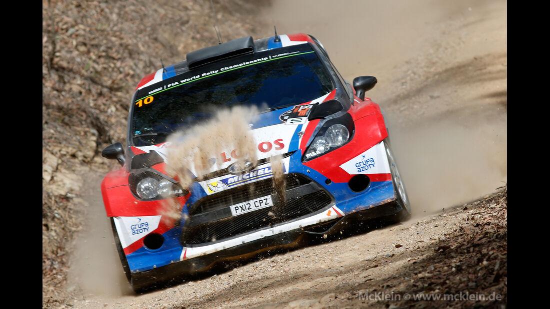 Kubica - Rallye Australien 2014
