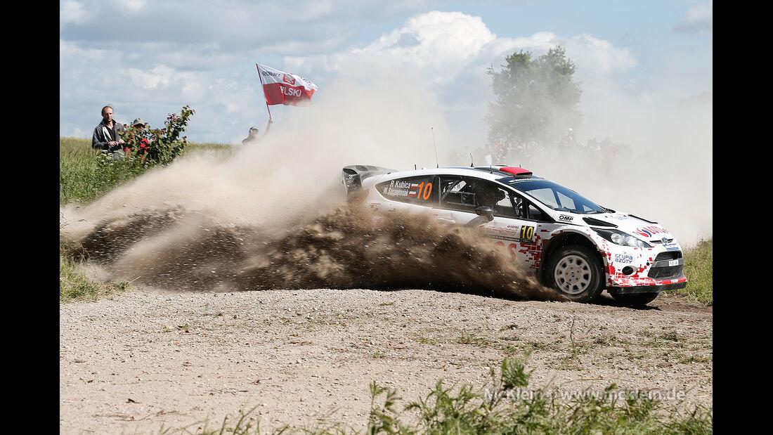 Kubica Rallye Polen 2014