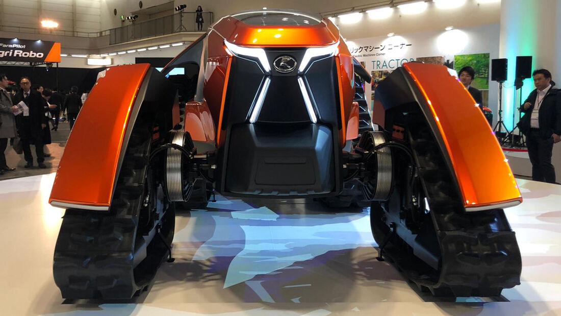 Kubota X tractor - cross tracor