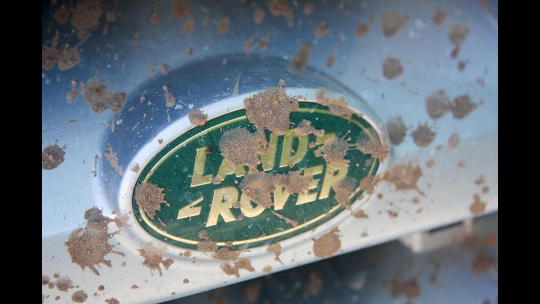 Kühlerfigur Land-Rover