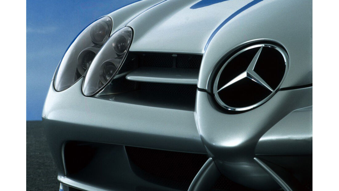 Kühlerfigur Mercedes