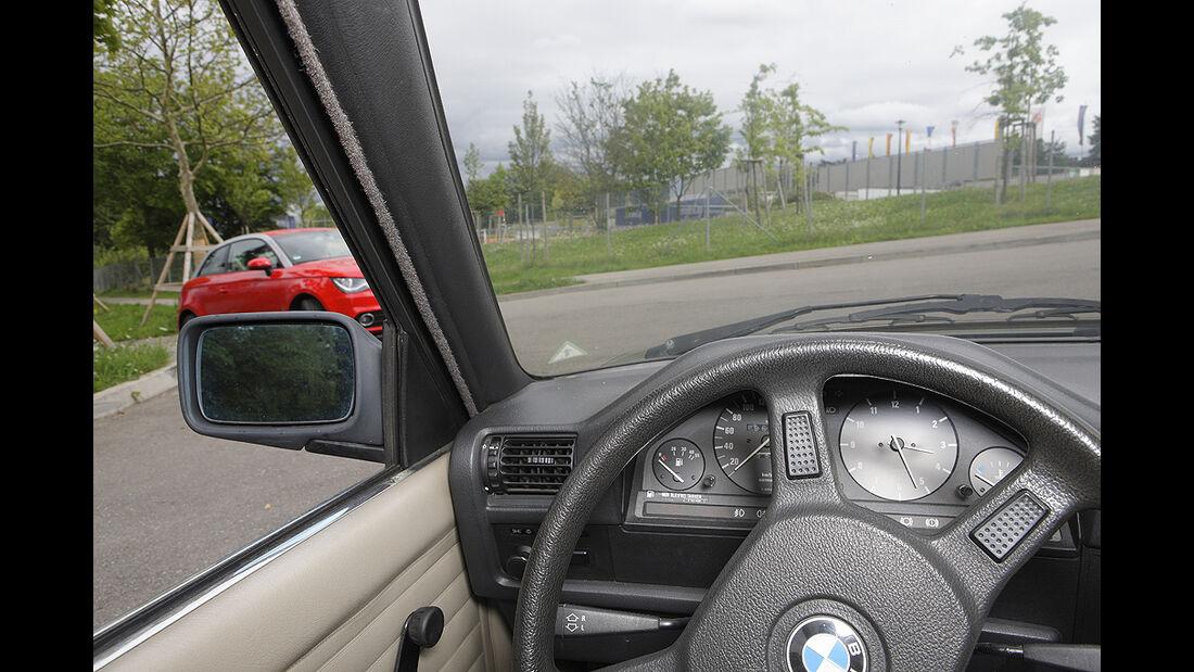 Kurvensicht, BMW 3er E30