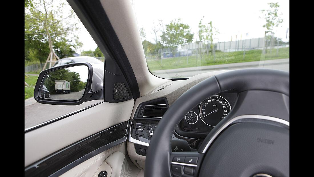 Kurvensicht, BMW 5er Touring