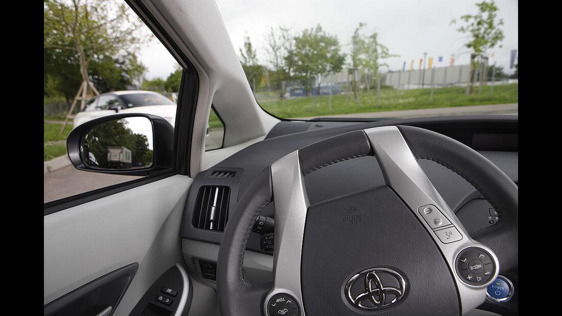 Kurvensicht, Toyota Prius