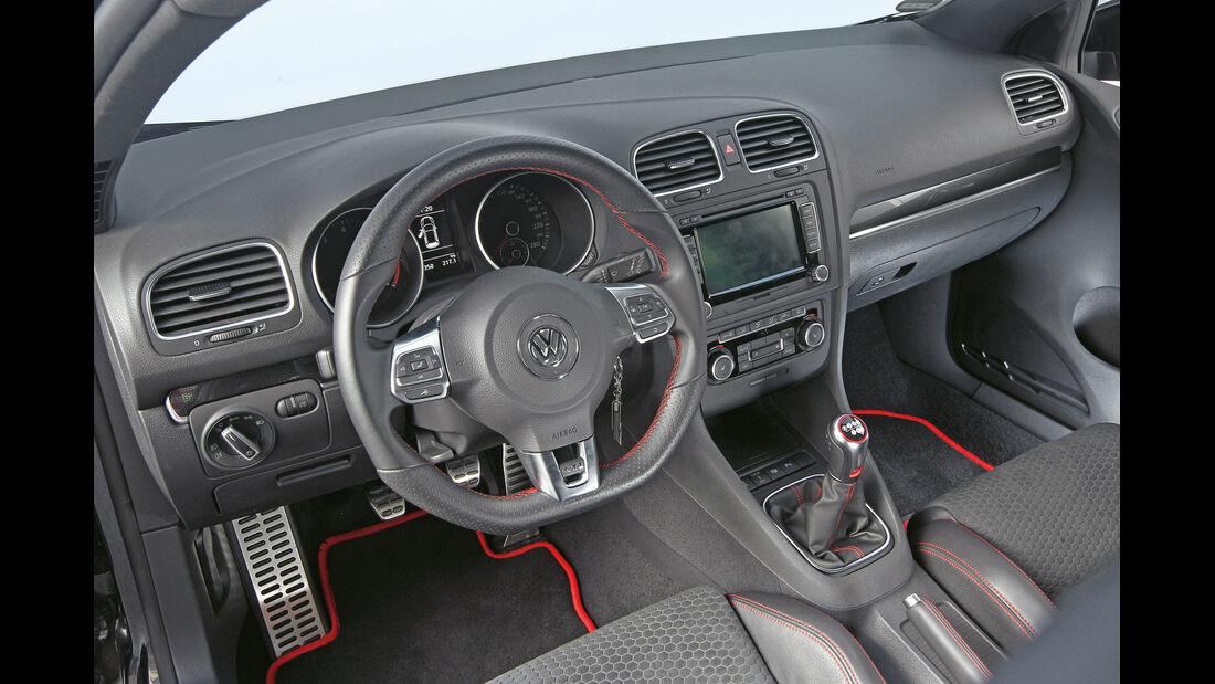 Kurztest: Oettinger-VW Golf GTI Edition 35, Cockpit, SPA 10/2012