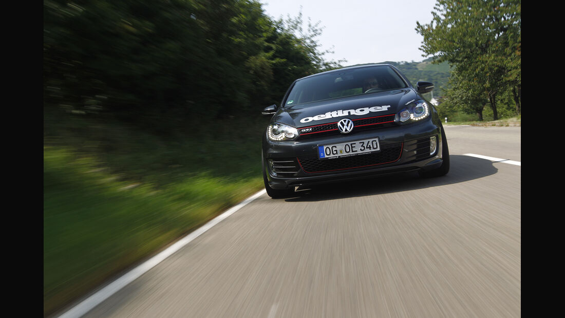 Kurztest: Oettinger-VW Golf GTI Edition 35, Front, SPA 10/2012