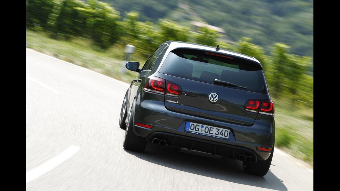 Kurztest: Oettinger-VW Golf GTI Edition 35, Heck, SPA 10/2012