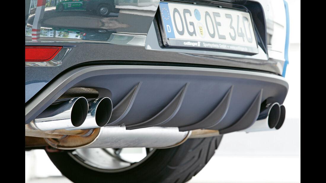 Kurztest: Oettinger-VW Golf GTI Edition 35, Heckdiffusor, SPA 10/2012