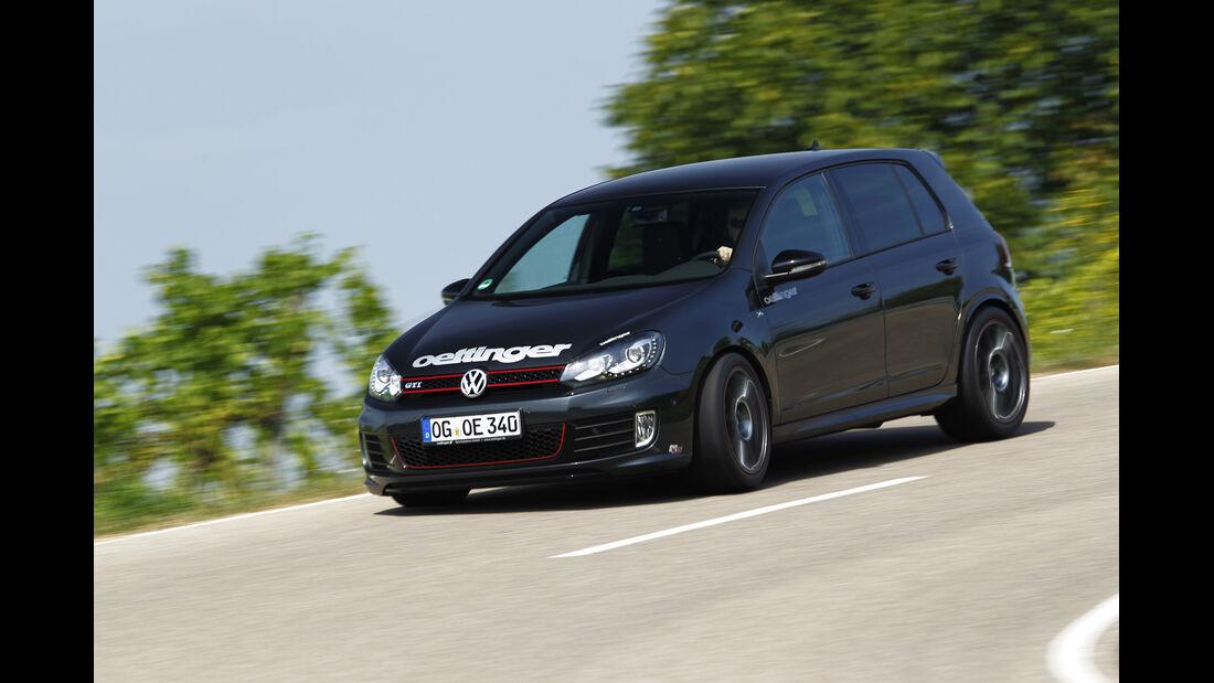 Kurztest: Oettinger-VW Golf GTI Edition 35, Seite vorne, SPA 10/2012